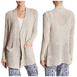 Joie Kamie Dropstitch Open Knit Long Cardigan